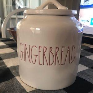 Rae Dunn Gingerbread Canister